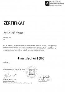 Finanzfachwirt (FH)