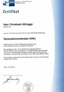 Generationenberater (IHK)