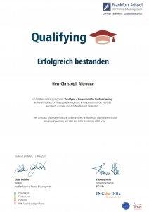 Qualifying - Professional für Baufinanzierung
